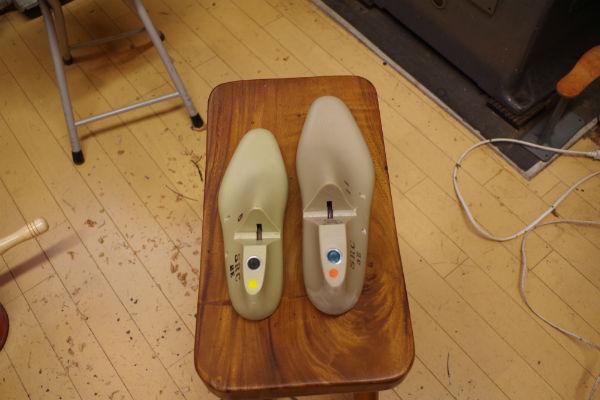 大きなサイズの靴