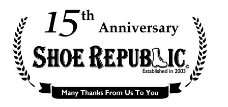 <シューリパブリック>15周年記念ロゴセット